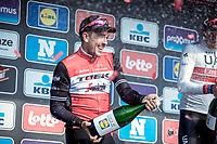 Podium:<br /> <br /> 2nd place finisher John Degenkolb (GER/Trek Segafredo)<br /> <br /> 82nd Gent – Wevelgem in Flanders Fields 2019 (1.UWT)<br /> Deinze – Wevelgem: 251,5km<br /> ©kramon