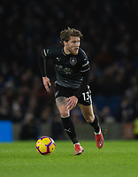 Burnley's Jeff Hendrick <br /> <br /> Photographer David Horton/CameraSport<br /> <br /> The Premier League - Brighton and Hove Albion v Burnley - Saturday 9th February 2019 - The Amex Stadium - Brighton<br /> <br /> World Copyright © 2019 CameraSport. All rights reserved. 43 Linden Ave. Countesthorpe. Leicester. England. LE8 5PG - Tel: +44 (0) 116 277 4147 - admin@camerasport.com - www.camerasport.com