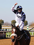 November 7, 2020 : Glass Slippers, ridden by Tom Eaves, wins the Turf Sprint on Breeders' Cup Championship Saturday at Keeneland Race Course in Lexington, Kentucky on November 7, 2020. Bill Denver/Breeders' Cup/Eclipse Sportswire/CSM