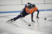 SCHAATSEN: HEERENVEEN: 05-10-2018 IJsstadion Thialf, schaatstraining, ©foto Martin de Jong