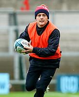 Thursday 7th October 2021<br /> <br /> Michael Lowry during Ulster Rugby Captain's Run held at Kingspan Stadium, Ravenhill Park, Belfast, Northern Ireland. Photo by John Dickson/Dicksondigital