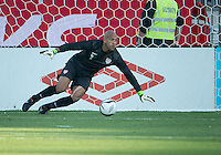 03 June 2012: US Men's National Soccer Team goalkeeper Tim Howard #1in action during an international friendly  match between the United States Men's National Soccer Team and the Canadian Men's National Soccer Team at BMO Field in Toronto..The game ended in 0-0 draw...