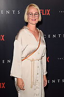 """Ingunn Beata Oyen<br /> arriving for the premiere of """"The Innocents"""" at the Curzon Mayfair, London<br /> <br /> ©Ash Knotek  D3421  20/08/2018"""