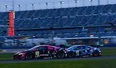 #86: Meyer Shank Racing w/Curb-Agajanian Acura NSX GT3, GTD: Mario Farnbacher, Matt McMurry, #57: Heinricher Racing w/MSR Curb-Agajanian Acura NSX GT3, GTD: Alvaro Parente, Misha Goikhberg