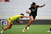 22nd May 2021; Eden Park, Auckland New Zealand;  Stacey Fluhler. Black Ferns Womens Sevens versus Australia Women, Trans-Tasman Sevens at Eden Park, Auckland.