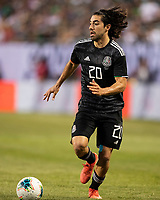 CHICAGO, IL - JULY 7: Rodolfo Pizarro #20 during a game between Mexico and USMNT at Soldiers Field on July 7, 2019 in Chicago, Illinois.
