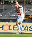 ::  HAMILTON'S SIMON MENSING AFTER HE MISSES A PENALTY ::.14/05/2011  sct_jsp009_hamilton_v_ict  .Copyright  Pic : James Stewart.James Stewart Photography 19 Carronlea Drive, Falkirk. FK2 8DN      Vat Reg No. 607 6932 25.Telephone      : +44 (0)1324 570291 .Mobile              : +44 (0)7721 416997.E-mail  :  jim@jspa.co.uk.If you require further information then contact Jim Stewart on any of the numbers above.........