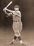 Pittsburgh PA:  Paul Waner led the National League in batting three times and accumulated over 3,000. He collected 200 or more hits on eight occasions, was voted the NL's Most Valuable Player in 1927, and compiled a lifetime batting average of .333. He is tied with Chipper Jones with the Major League record for consecutive games with an extra-base hit, with 14.