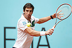 Pablo Cuevas, Uruguay, during Madrid Open Tennis 2016 match.May, 5, 2016.(ALTERPHOTOS/Acero)