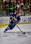 9 February 2019: University of New Hampshire Wildcat Defenseman Max Gildon, a Sophomore from Plano, Texas, in second period action against the University of Vermont Catamounts at Gutterson Fieldhouse in Burlington, Vermont. The Wildcats fell to the Catamounts 4-1 splitting their 2-game Hockey East weekend series. Mandatory Credit: Ed Wolfstein Photo *** RAW (NEF) Image File Available ***