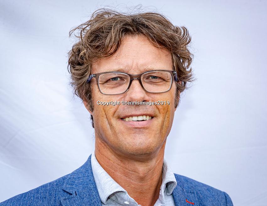 Rosmalen, Netherlands, 15 June, 2019, Tennis, Libema Open, Roger Davids Chairman KNLTB<br /> Photo: Henk Koster/tennisimages.com