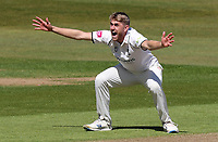 Olly Stone of Warwickshire appeals for a wicket during Warwickshire CCC vs Essex CCC, LV Insurance County Championship Group 1 Cricket at Edgbaston Stadium on 22nd April 2021