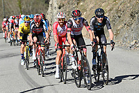 14th March 2021, Levens, France;  UAE Cyclist during stage 8 of the 79th edition of the 2021 Paris - Nice cycling race, a stage of 92,7 kms between Plan-du-Var and Levens on March 14, 2021 in Levens, France