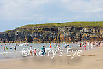 A packed Ballybunion beach on Sunday