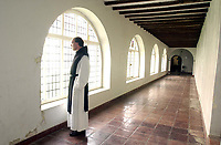 Pictured: The Monastery Cloisters. STOCK PICTURE<br /> Re: Dyfed-Powys Police has received reports of historical sexual abuse perpetrated by a monk on Caldey Island in the 1970s and 1980s.<br /> The force investigated in 2014 and 2016 but could not prosecute as the monk, Father Thaddeus Kotik, died in 1992.<br /> The Guardian newspaper has reported that Caldey Abbey has paid compensation to six women who were abused as children.