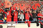 December 30, 2016: Georgia Bulldogs Fans at the AutoZone Liberty Bowl inside Liberty Bowl Memorial Stadium in Memphis, Tennessee. ©Justin Manning/Eclipse Sportswire/Cal Sport Media