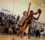 Scenes from the Elkton versus Patterson Mill 2A Boys Basketball State Championship Regional Semifinal matchup at Edgewood High School in Edgewood, Maryland on March 1, 2012