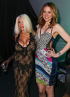 LOS ANGELES, CA, USA - MARCH 14: Courtney Stodden, Maitland Ward at the Style Fashion Week Los Angeles 2014 7th Season - Day 5 held at L.A. Live Event Deck on March 14, 2014 in Los Angeles, California, United States. (Photo by Xavier Collin/Celebrity Monitor)