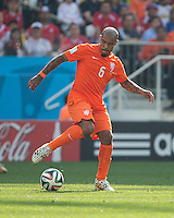 São Paulo, Brazil - June 23, 2014: The Netherlands defeated Chile 2-0 to end their group play round at Stadium Arena Corinthians.
