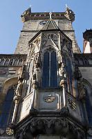 Europe/République Tchèque/Prague: La Tour de l'Hôtel de Ville
