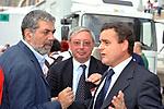 SANTO DELLA VOLPE, VINCENZO MARIA VITA E FRANCO SIDDI<br /> MANIFESTAZIONE PER LA LIBERTA' DI STAMPA PROMOSSA DAL FNSI<br /> PIAZZA DEL POPOLO ROMA 2009