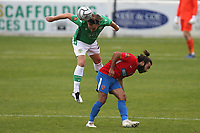 Charlie Lee of Yeovil Town and Sam Deering of Dagenham and Redbridge during Dagenham & Redbridge vs Yeovil Town, Vanarama National League Football at the Chigwell Construction Stadium on 17th October 2020