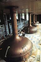 - Czech Republic, Urquell brewery in Pilsen....- Repubblica Ceca, fabbrica di birra Urquell di Pilzen
