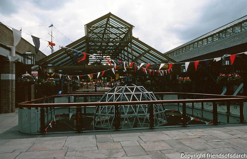 London:  Tobaccon Dock, Wapping.  Photo '90.