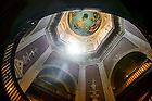 July 26, 2021; Main Building rotunda (Photo by Matt Cashore/University of Notre Dame)
