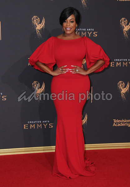 10 September  2017 - Los Angeles, California - Niecy Nash. 2017 Creative Arts Emmys - Arrivals held at Microsoft Theatre L.A. Live in Los Angeles. Photo Credit: Birdie Thompson/AdMedia