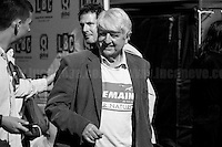 """Stanley Johnson (Boris Johnson father and supporter of """"Remain in the EU"""" Campaign). <br /> <br /> 24.06.2016 - """"Faces From College Green (Part 1)"""".<br /> <br /> London, March-July 2016. Reporting the EU Referendum 2016 (Campaign, result and outcomes) observed through the eyes (and the lenses) of an Italian freelance photojournalist (UK and IFJ Press Cards holder) based in the British Capital with no """"press accreditation"""" and no timetable of the main political parties' events in support of the RemaIN Campaign or the Leave the EU Campaign.<br /> On the 23rd of June 2016 the British people voted in the EU Referendum... (Please find the caption on PDF at the beginning of the Reportage).<br /> <br /> For more photos and information about this event please click here: http://lucaneve.photoshelter.com/gallery/Faces-From-College-Green-Part-1/G0000Da_l8X4x2ho/C0000LiS.GOfEuNk<br /> <br /> For more information about the result please click here: http://www.bbc.co.uk/news/politics/eu_referendum/results"""