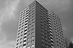 Apartment buildings in former East  Berlin, Germany. Aug. 1, 2007.