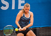 Amstelveen, Netherlands, 1 August 2020, NTC, National Tennis Center, National Tennis Championships, Women's double final:  Quirine Lemoine (NED).<br /> Photo: Henk Koster/tennisimages.com