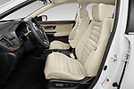 Front seat view of 2021 Honda CR-V-Hybrid EX 5 Door SUV Front Seat  car photos