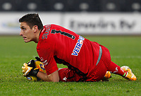 Hellas Verona s goalkeeper Marco Silvestri handles the ball during the Serie A soccer match between Lazio and Hellas Verona at Rome's Olympic Stadium, December 12, 2020.<br /> UPDATE IMAGES PRESS/Riccardo De Luca