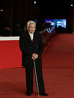 Italian photographer Paolo Di Paolo poses on the red carpet for the presentation of the movie 'Treasure of His Youth: The Photographs of Paolo Di Paolo' at the 16th annual Rome International Film Festival, in Rome, Italy, 23 October 2021.<br /> UPDATE IMAGES PRESS/Isabella Bonotto