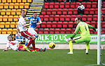 St Johnstone v Kilmarnock…15.10.16.. McDiarmid Park   SPFL<br />Steven MacLean scores only to see his goal ruled offside<br />Picture by Graeme Hart.<br />Copyright Perthshire Picture Agency<br />Tel: 01738 623350  Mobile: 07990 594431