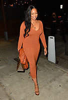 Garcelle Beauvais Has Dinner At Craig's In Hollywood
