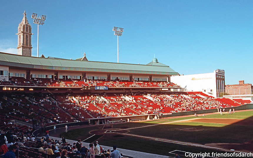Ballparks: Buffalo--Pilot Field. June 1988. By game time, it was almost full (about 18000)