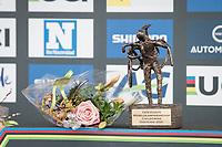 The Trophy<br /> <br /> UCI 2021 Cyclocross World Championships - Ostend, Belgium<br /> <br /> Elite Men's Race<br /> <br /> ©kramon