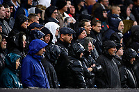 2nd October 2021; Stamford Bridge, Chelsea, London, England; Premier League football Chelsea versus Southampton; Chelsea fans watching the match from the Matthew Harding stand