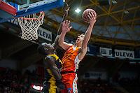 VALENCIA, SPAIN - APRIL 24: Lucic during ENDESA LEAGUE match between Valencia Basket Club and Iberostar Gran Canaria at Fonteta Stadium on April, 2016 in Valencia, Spain