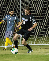 The Winthrop University Eagles beat the UNC Asheville Bulldogs 4-0 to clinch a spot in the Big South Championship tournament.  Stabler Cochrane (9)