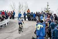 up the final very steep part of the Monte Zoncolan <br /> <br /> 104th Giro d'Italia 2021 (2.UWT)<br /> Stage 14 from Cittadella›Monte Zoncolan (205km)<br /> <br /> ©kramon