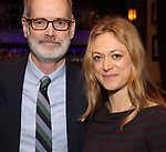 Jack Cummings III and Marin Ireland attends The New York Drama Critics' Circle Awards at Feinstein's/54 Below on May 10, 2018 in New York City.