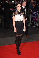 "Bella Dayne<br /> arriving for the London Film Festival 2017 screening of ""Breathe"" at the Odeon Leicester Square, London<br /> <br /> <br /> ©Ash Knotek  D3318  04/10/2017"