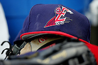 Round Rock Express Hat. Photo by Andrew Woolley/ Four Seam Images.