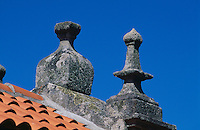 Lira, Detail Hórreo (Speicher), Galicien, Spanien