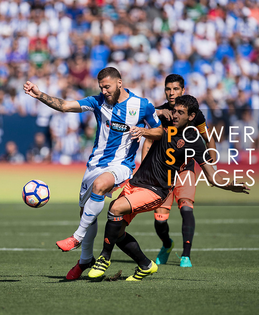Timor of Valencia CF in action during their La Liga match between Club Deportivo Leganes and Valencia CF at the Butarque Municipal Stadium on 25 September 2016 in Madrid, Spain. Photo by Diego Gonzalez Souto / Power Sport Images