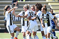 esultanza gol Petronella Ekroth. Celebration after scoring a goal <br /> Verona 20-4-2019 Stadio AGSM Olivieri <br /> Football Women Serie A Hellas Verona - Juventus <br /> Juventus win italian championship <br /> Photo Daniele Buffa / Image Sport / Insidefoto